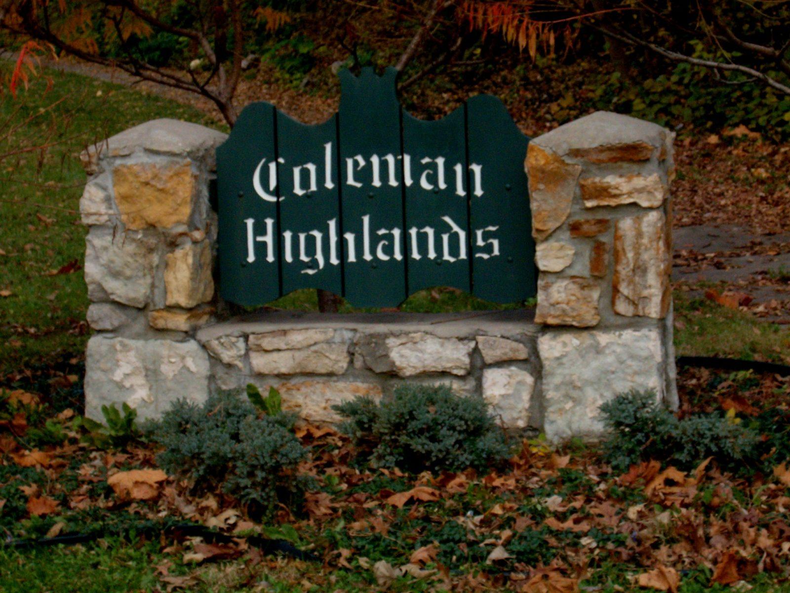Coleman Highlands: A Historic District