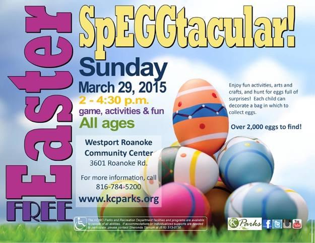 Easter Egg Hunt Roanoke Park